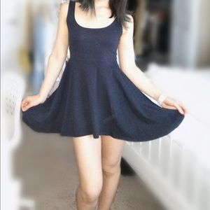 Sparkle & Fade Dresses - Sale: Sparkle & Fade Navy Skater Dress